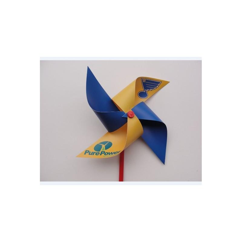 custom plastic pinwheel