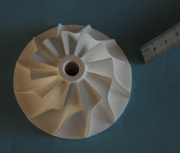 Coffee grinder stone part  - ceramic custom-made product on demand
