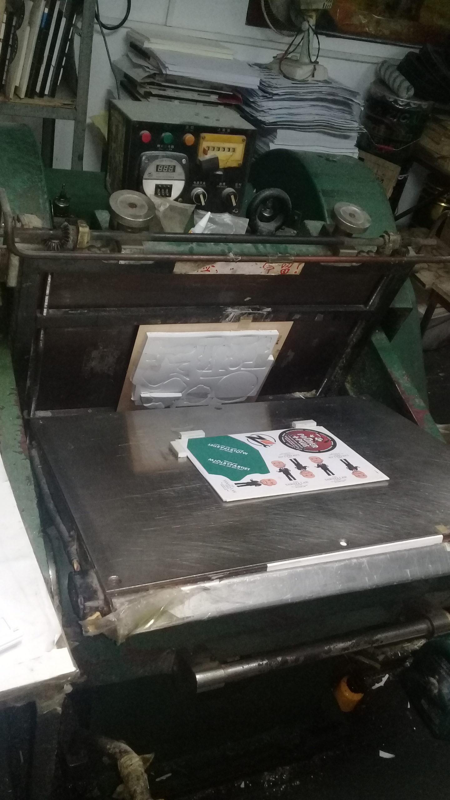 Výroba reklamní vůně do auta v zakázkovém tvaru