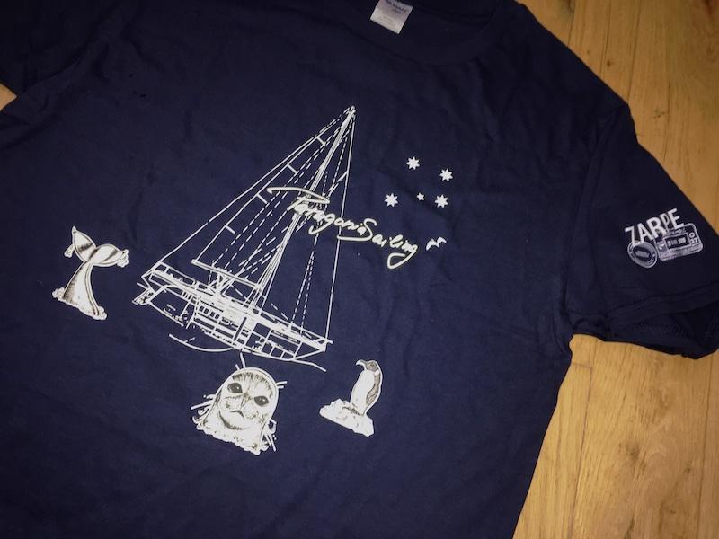 Trička Blasen IV - Patagonia Sailing