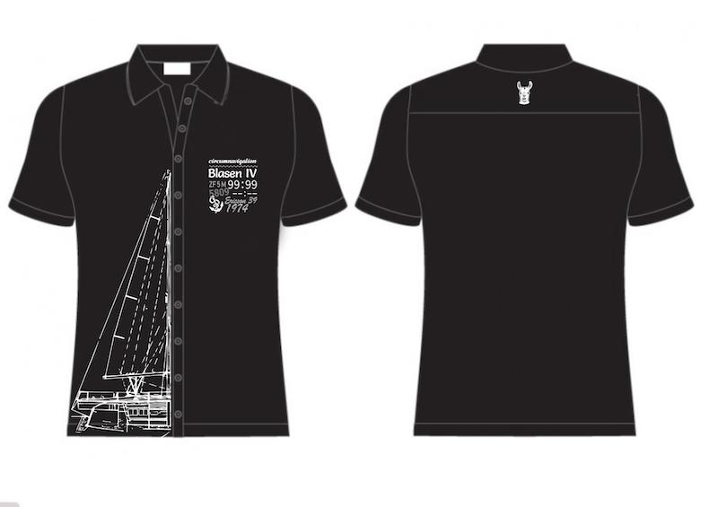 černé košile Blasen IV - plachetnicí kolem světa