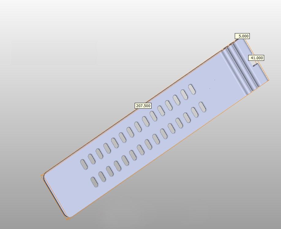 zakázkový hodinkový nebo přístrojový pásek ze silikonu