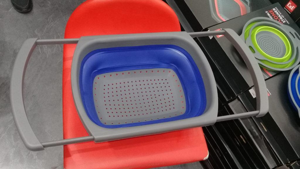zakázkový produkt sítko z komponentů plast silikon pro camping