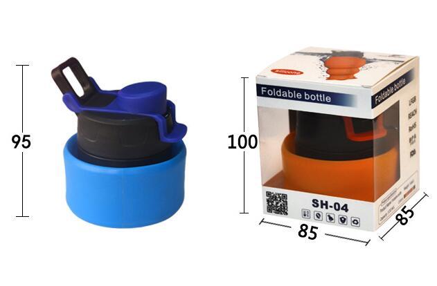 skladací silkonová lahev jako promo předmět