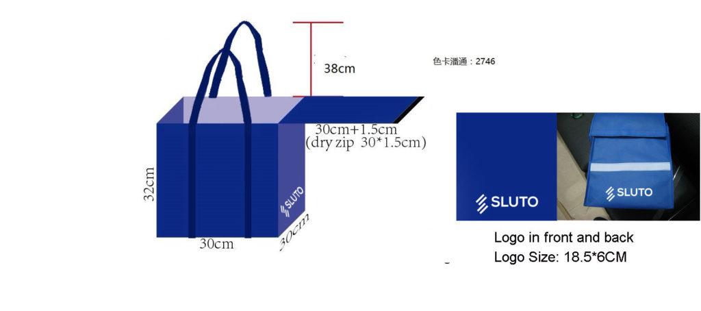 návrh zakázkové firemní tašky ve tvaru na přání