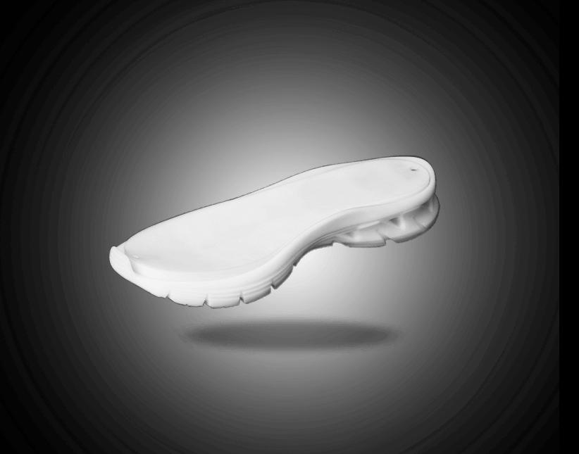 gumový komponent v zakázkovém designu do obuvnického průmyslu pro další výrobu