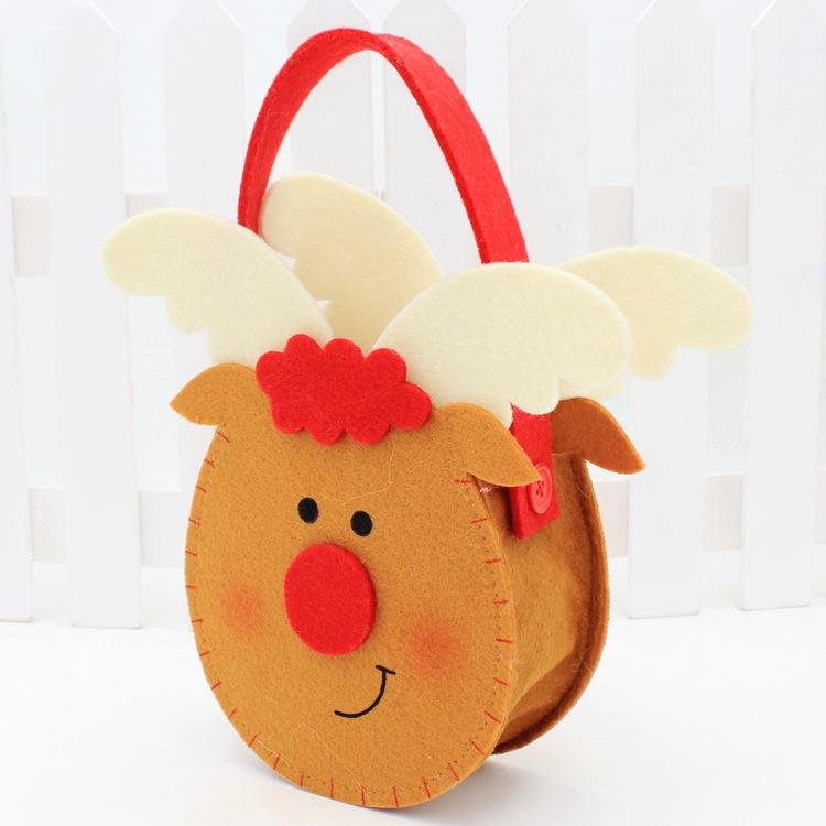 vánoční taška na firemní darky na zakázku