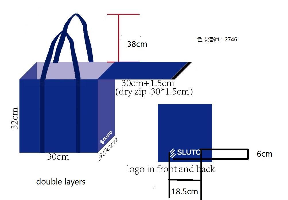 výroba zakázkové tašky na učetnictví