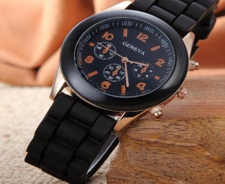 Gumový pásek na hodinky - výroba ze silikonu