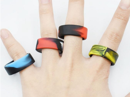 výroba ze silikonu - prsteny