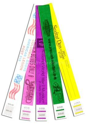 Tyvekové identifikačné náramky na zákazku
