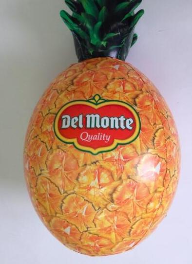 Produktová nafukovací maketa - ananas