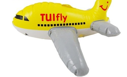 Produktová nafukovací maketa - letadlo