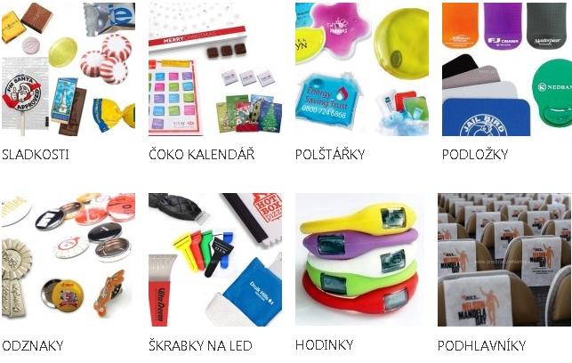 Zakázková výroba reklamních předmětů - výrobní kooperace