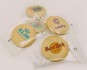 Reklamní sušenky s potiskem